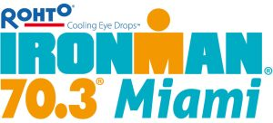 Logo for Miami 70.3 race